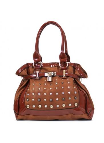PJP2722 Metal studs handbag