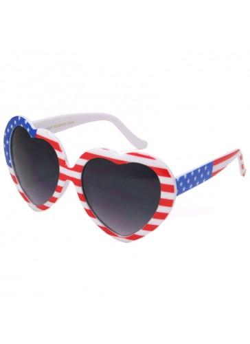 P9736 American Flag Sunglasses by dozen